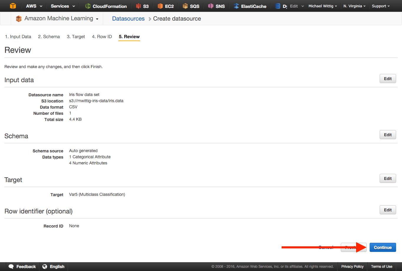 Discovering machine learning with iris flower data set cloudonaut step 8 izmirmasajfo