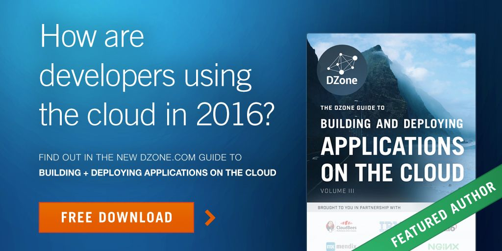 Free ebook: Building and Deploying Applications on the Cloud