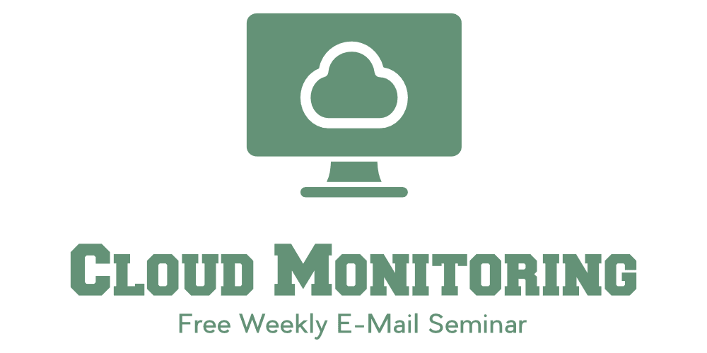 The Cloud Monitoring Seminar