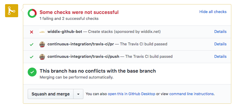 GitHub process automation: A bot to build pull requests